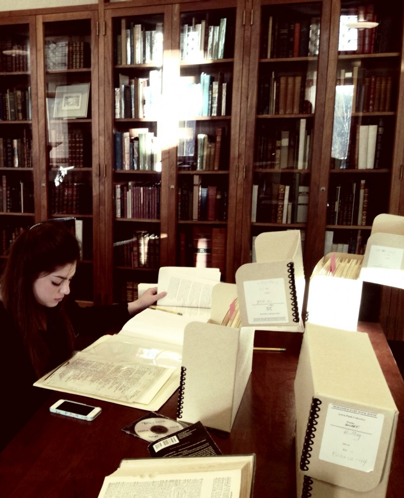 Report on Visit to Sylvia Plath Archive at Smith College